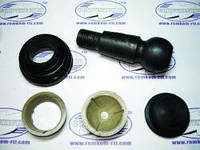 Ремкомплект наконечника рулевой тяги МТЗ-1221 (с пальцем)