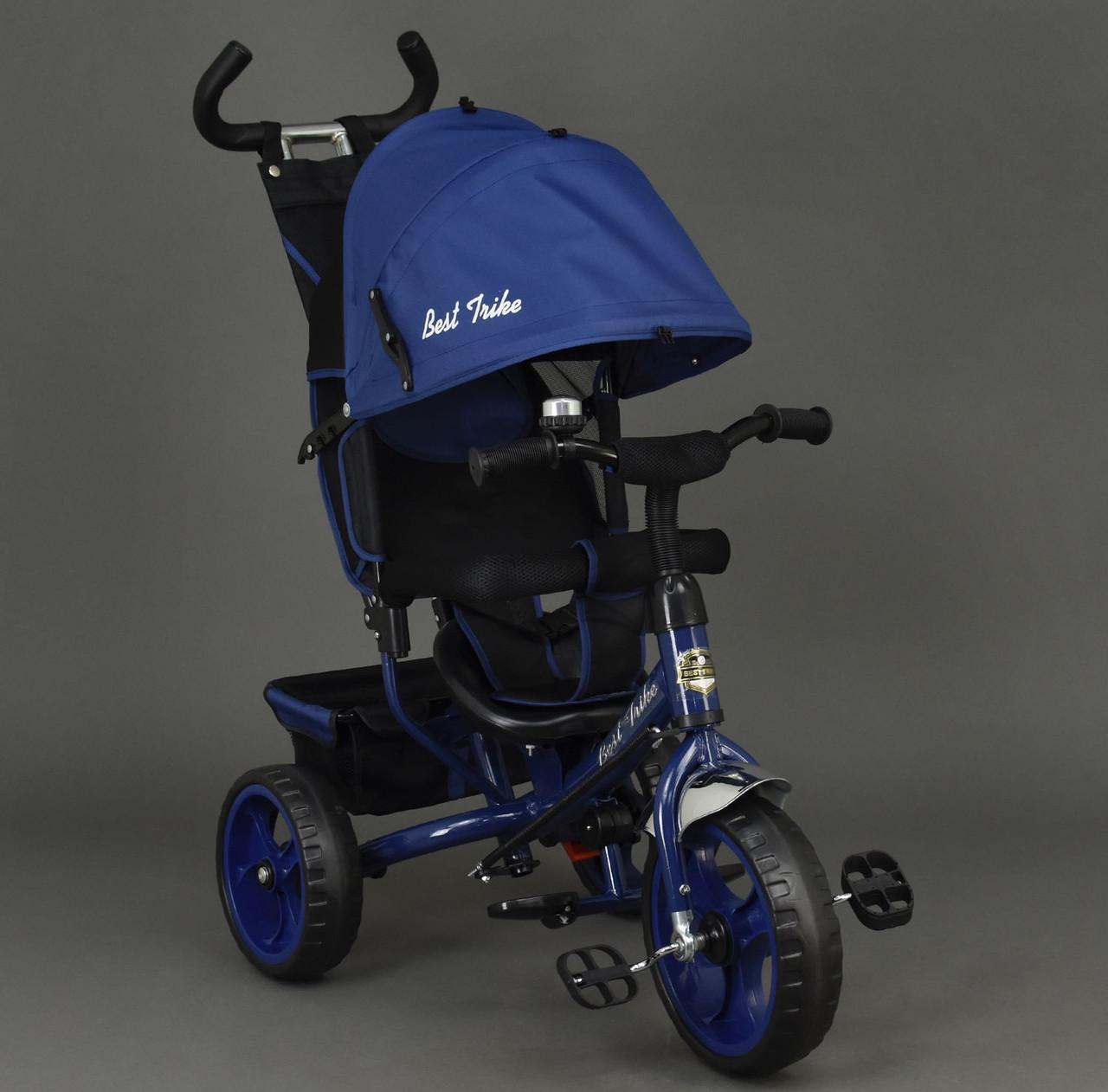 Трехколесный велосипед Best Trike 6570 Синий