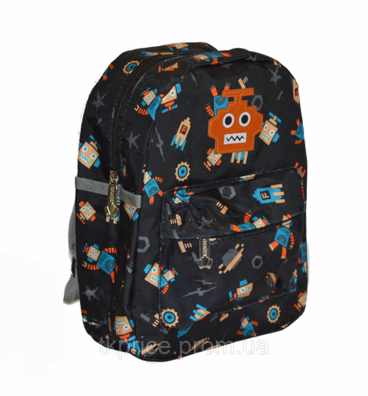 Детский рюкзак для мальчиков  черный