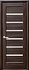 Полотно Линнея ПВХ DeLuxe с сатином от Новый стиль (венге new, зол.ольха, каштан, серый, ясень) Grey