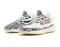 Кроссовки мужские Adidas Yeezy Boost 350 V2 Zebra, фото 1