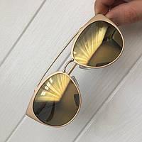 Очки женские от солнца Chrome hearts пудровые,магазин очков