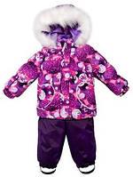 Lenne Mimi 17313/3622 зимний комплект (фиолетовый) р. 86, 92, 98