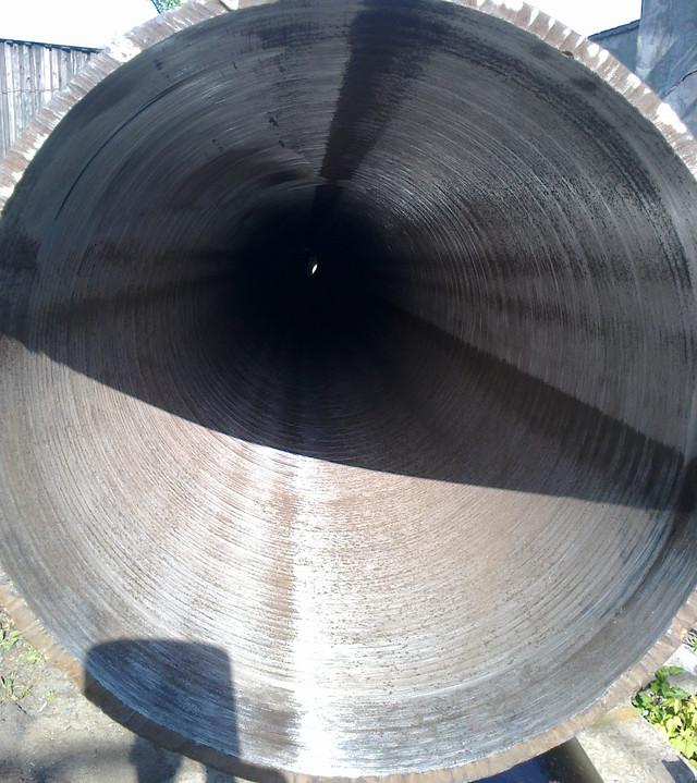 Підготовка внутрішньої поверхні труб під ізоляцію