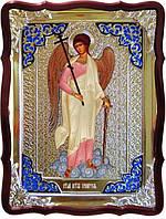 Икона Ангела Хранителя ростовая в ризе