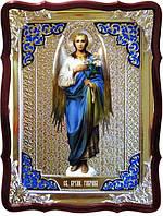 Заказать икону Архангела Гавриила ручной работы