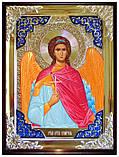 Заказать икону Ангела Хранителя ручной работы, фото 2