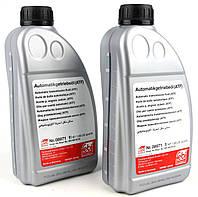 Жидкость для гидросистем; Трансмиссионное масло; Масло автоматической коробки передач; Масло рулевого механизма, Жидкость ГУР/АКПП (ATF) красная, 1L
