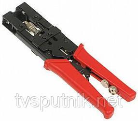Обжимной инструмент для RG58 RG59 RG6, Разъем F BNC-RCA