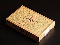 """Пуэр Мэнхай Лао Ча Тоу """"Старые Чайные Головы"""" кирпич 250 грамм, 2010 года. Оригинал"""