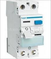 Устройства защитного отключения Hager, CD226J, 25А 2п 30мА, AC