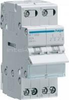 Переключатель ввода резерва Hager, SFT232, I-0-2 2-пол., 32А230В