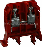 Колодка клеммная SEZ RS2,56 красный