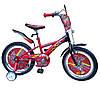 Велосипед  детский двухколесный Тачки 14 дюймов