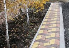 Укладка тротуарной плитки 2