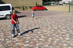 Укладка тротуарной плитки 5