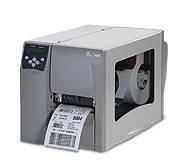 Принтер штрих кодов этикеток, термопринтер (термотрансферный) полупромышленный Zebra S4M