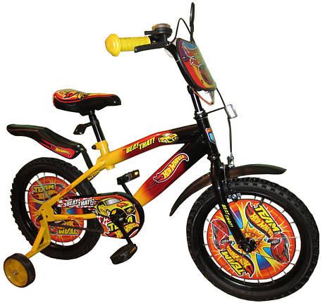 Велосипед двухколесный Хот Вилс HOT WHEELS 18 дюймов, фото 2