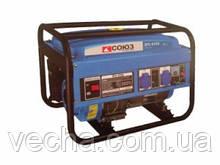Бензогенератор Союз ЭГС-8725 (электростартер,увелич. глушитель)