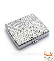 Оригинальный портсигар из металла с элегантным дизайном