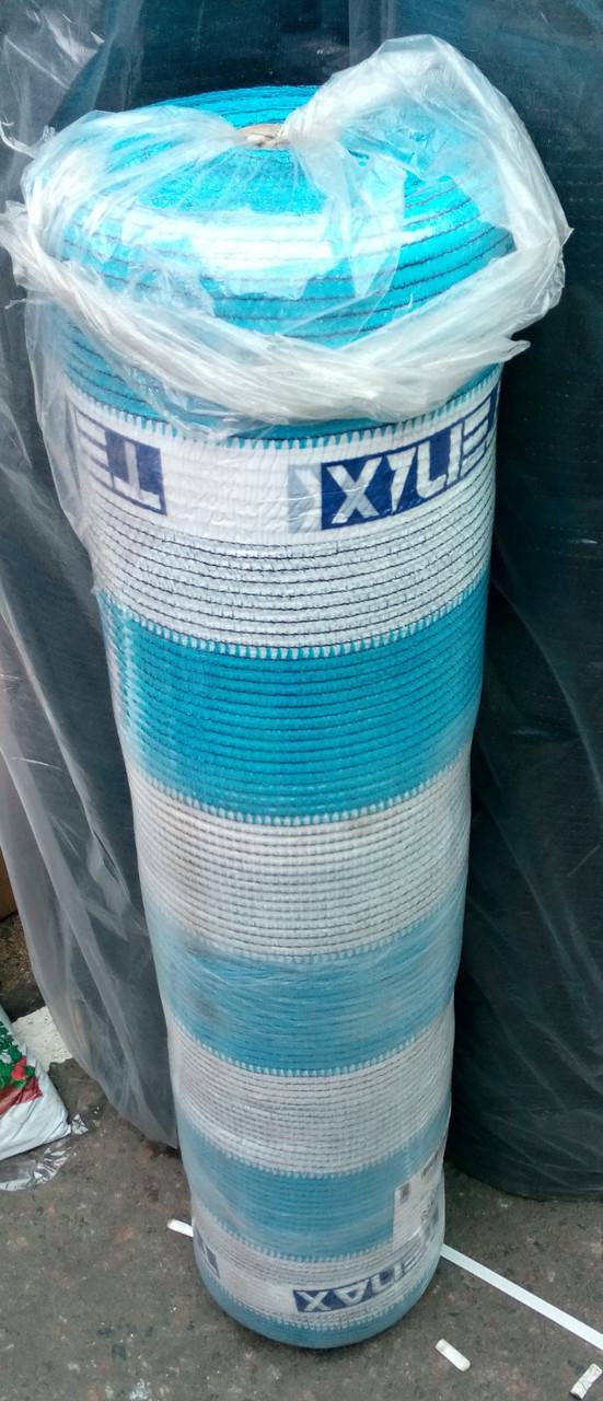 Сетка  затеняющая Солеадо 90 %  2м*50 м бело-голубая Tenax, Италия