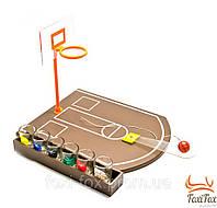 Настольный баскетбол с рюмками 42 см