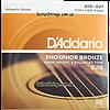 Струны D'Addario EJ15 Phosphor Bronze 10-47