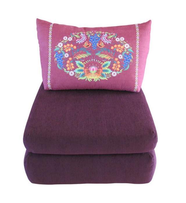 Кресло кровать Веселка (Петриковка красный)