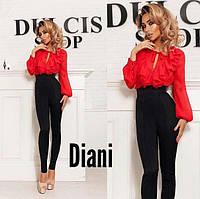 Женские идеально узкие брюки с завышенной талией