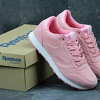 Подростковые Кроссовки рибок розовый цвет 17