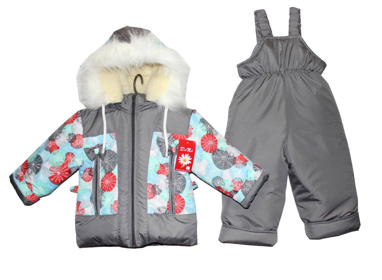 Комбинезоны детские зимние для девочки