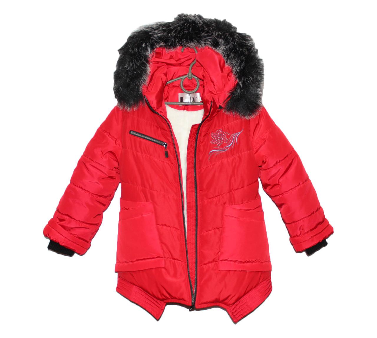 Пальто детское на зиму для девочки HL 202