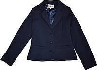 Жакет школьный для девочки Nadin ТМ Newpoint синий размеры 128 134 140 146 152 158