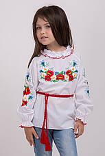 Ніжна вишита блуза для дівчинки, фото 2