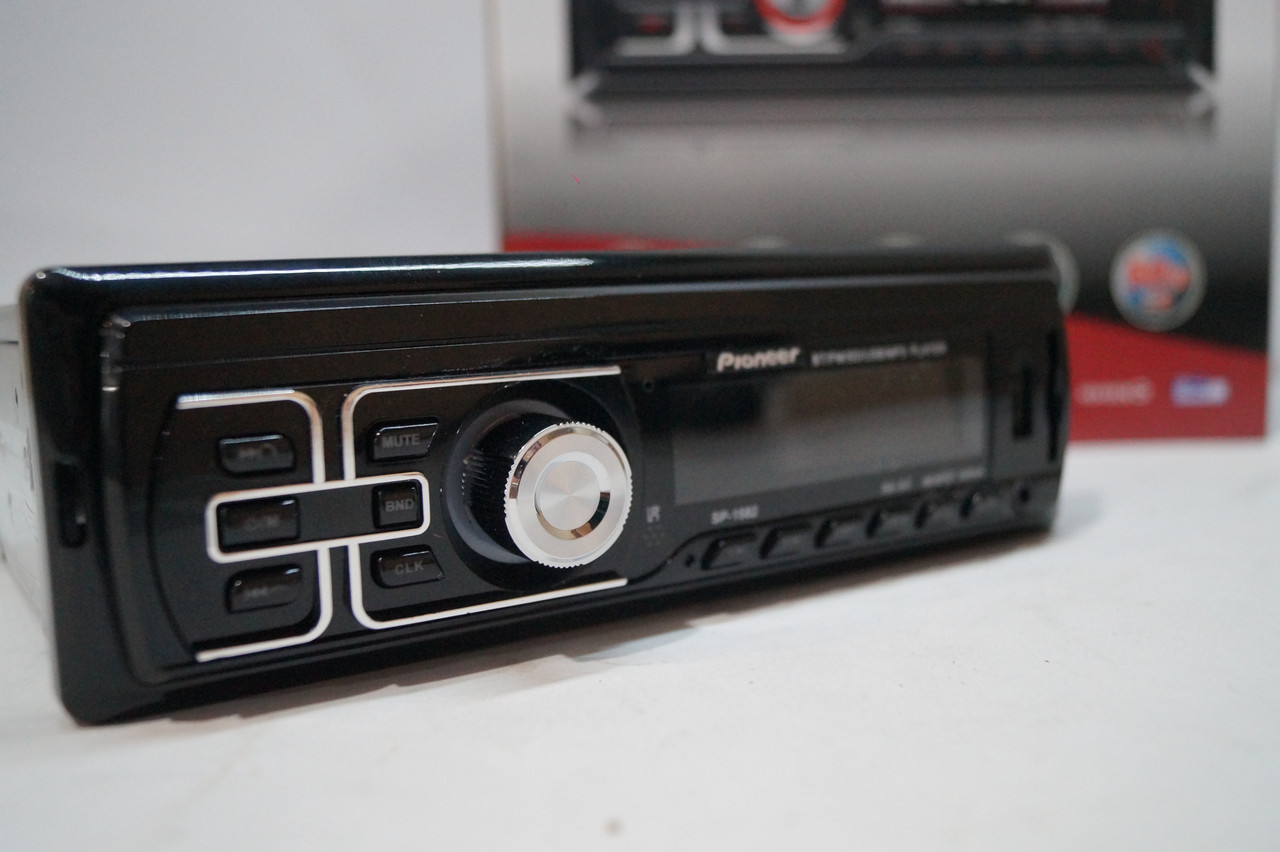 USB/SD MP3 проигрыватель Bluetooth Автомагнитола Pioneer SP-1582 MP3  USB/SD