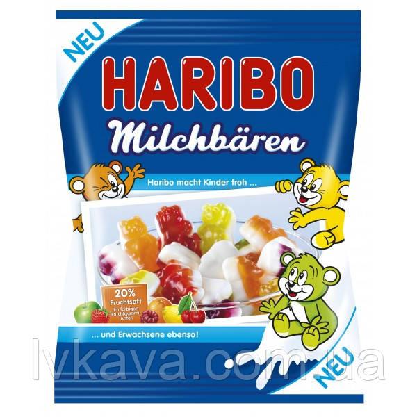 Желейные конфеты Haribo Milchbaren, 175 гр