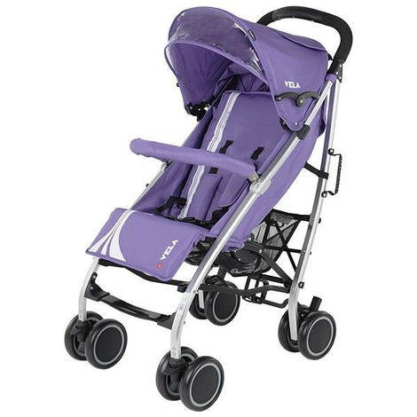 Коляска трость Quatro Vela № 9 фиолетовый