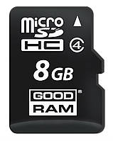 Карта памяти micro SD Goodram 8 Gb class 4