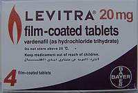 Таблетки для повышения потенции Левитра Levitra
