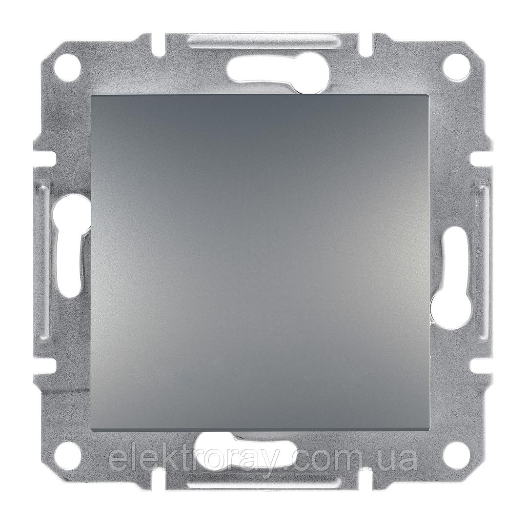 Перекрестный выключатель Schneider Asfora Plus сталь