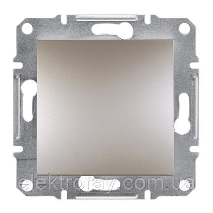 Перекрестный выключатель Schneider Asfora Plus бронза, фото 2