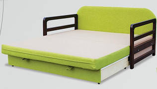Диван-кровать, раскладка вперед для ежедневного сна