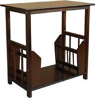 Журнальний столик СМ-1, з натуральної деревини, виробництва меблевої фабрики Скіф.