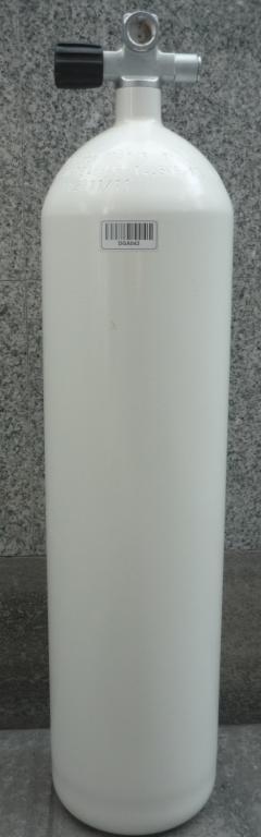 Баллон стальной ECS 12L 230 BAR с вентилем левым или правым с расширением