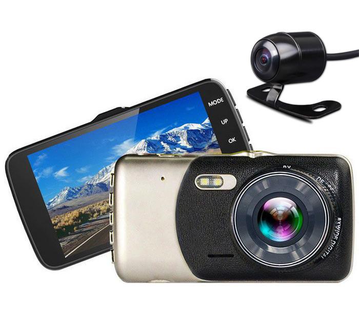 Качественный видеорегистратор с двумя камерами
