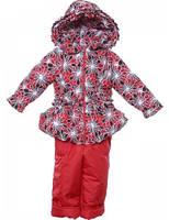 Детская куртка и комбинезон для девочки