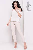 Блузка с открытыми плечами Медея-5