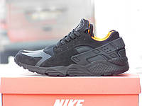 Мужские кроссовки Nike Huarache Черные