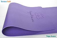 """Коврик, каремат """"Yoga Asana"""" для занятий йогой, фитнесом, аэробикой (premium)."""