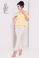 Блузка с открытыми плечами Медея-6